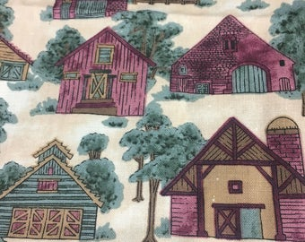 County Fair Fabric, Screen Print, Quilting Fabric, Hoffman International, 1 Yard, Cotton Fabric, Discount Fabric, Fabric Remnants, Bargain