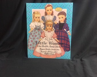Madame Alexander Little Women vintage paperdolls uncut from 1994 by Peck Aubry Evergreen Press