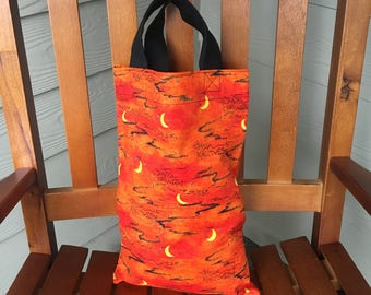 Tote Bag for Kids for Trick-or-Treating,  Happy Halloween Print  - Free Shipping in USA
