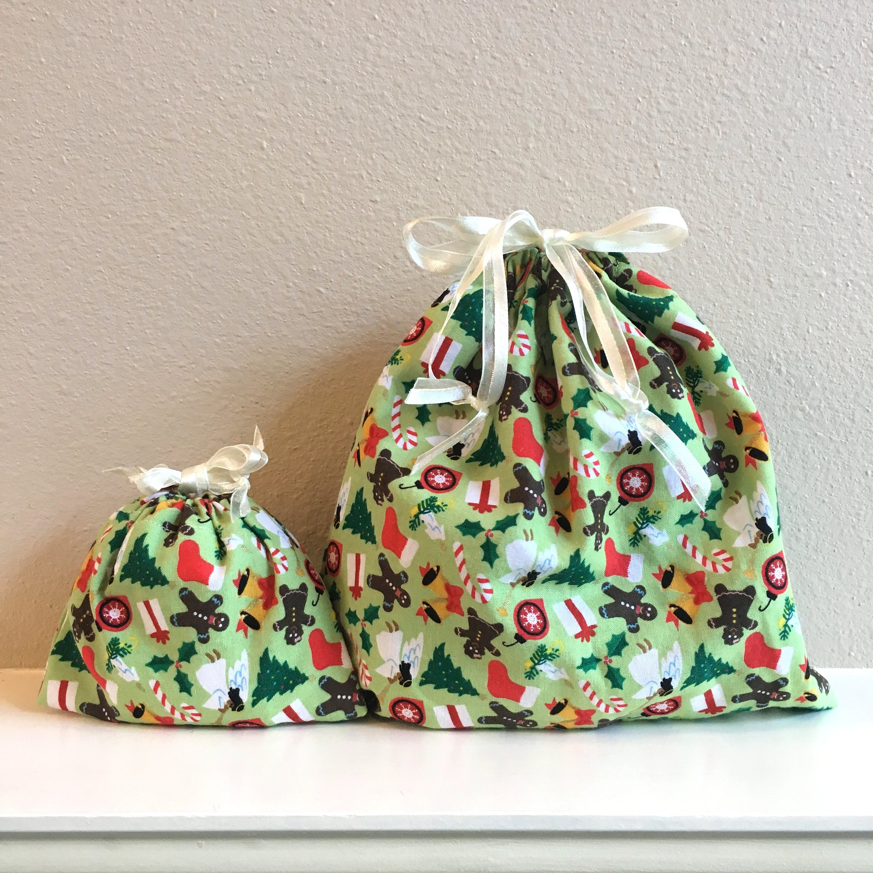 Christmas Gift Ideas, Cloth Christmas Bags, Angels, Gingerbread ...