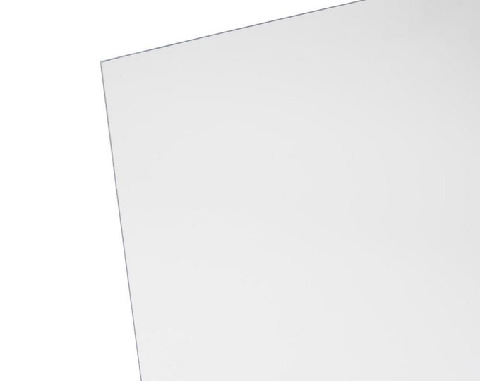 "9"" W X 7 inch L Acrylic Stencil for pleated masks"