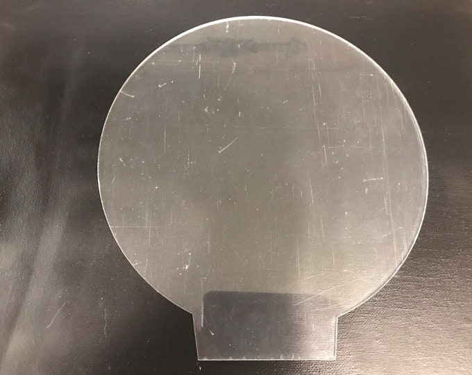 Cricut cutter engraver tip, round LED blanks, for 3 inch LED base lamps