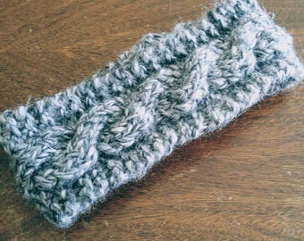 Cable Knit earwarmer/ headband