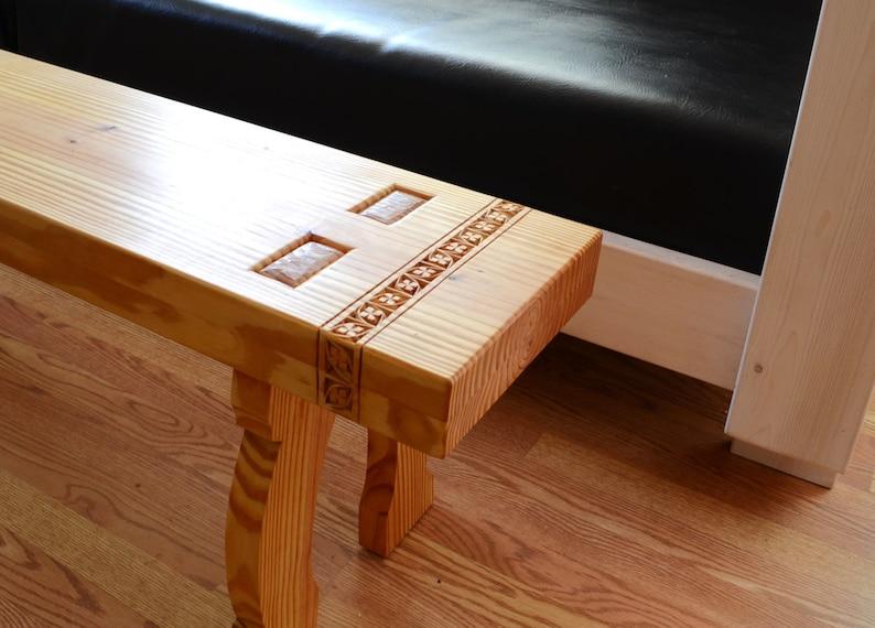 Swedish Country Furniture Pine Bench