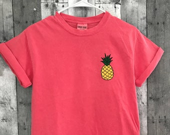 Pineapple Shirt l Pineapple Tee l Women's Graphic Tees l Aloha l Pineapple Express