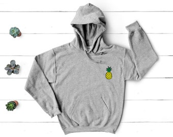 Pineapple Hoodie l Pineapple Tee l Women's Graphic Tees l Aloha l Pineapple Express l Pineapple Hooded Sweatshirt l Sweatshirt