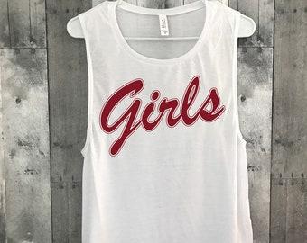 Girls Tank Top l Girls T-Shirt from Friends l Women's Graphic Tees l Girls Shirt l Friends l 90s Tee l Vintage Tee l Women's Graphic Tank