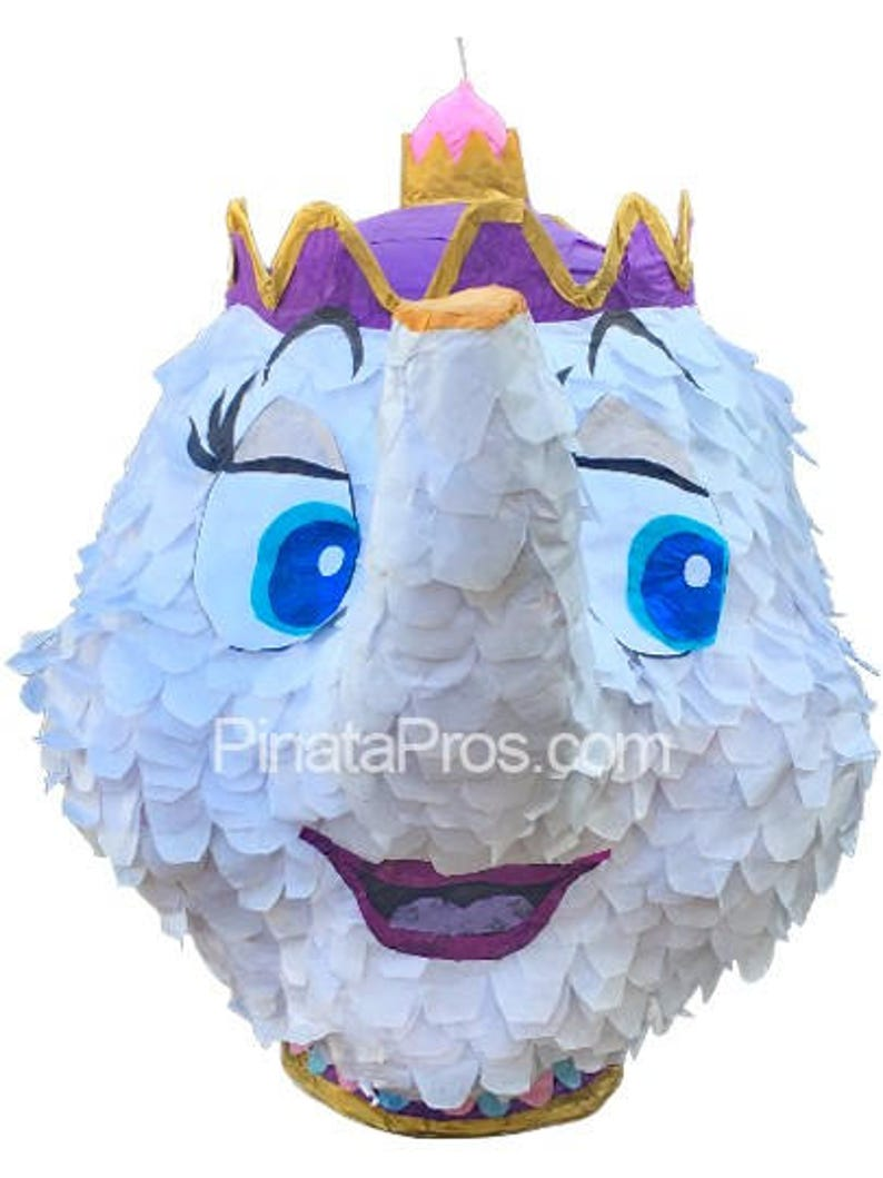 Mrs  Potts pinata from the movie Beauty and the Beast