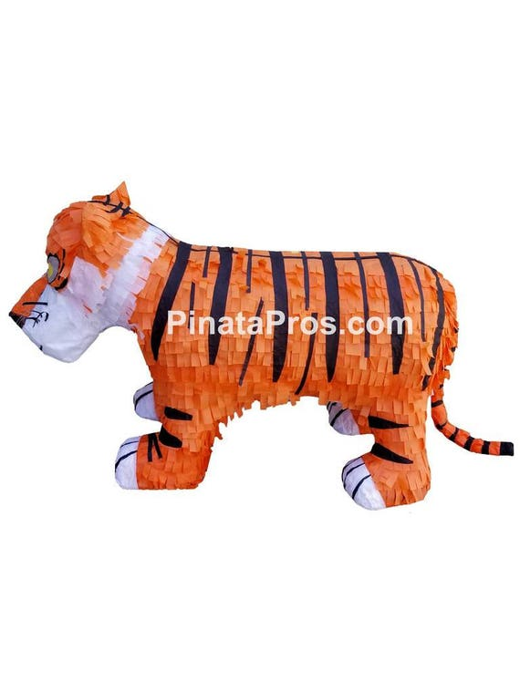 Pinatas Tiger Jungle Party Game Decoration and Photo Prop for Kids Birthdays