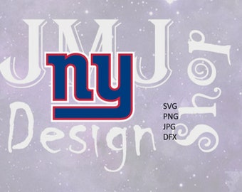Ny Giants logo svg, digital download, SVG, DXF,JPG,Png for use with Cameo, Silhouette and Cricut Die Cutting Machines
