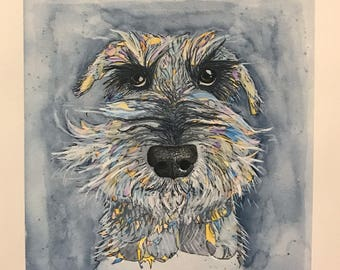 Watercolor of your pet!