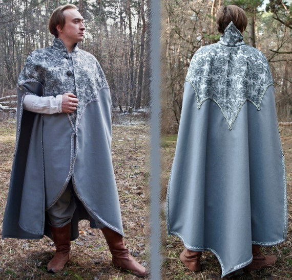 Fantasy surcoat Elven tunic LARP Medieval surcoat Medieval tunic elven clothing medieval garb Renaissance overdress Elven wedding lacing PbEIEevq