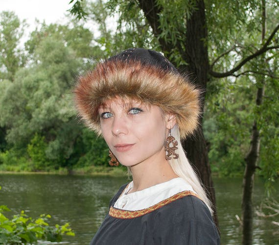 Viking hat Birka hat Early medieval hat Norse hat Woolen  378191403