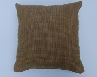 18 x18 Brown square pillow cover