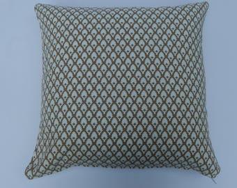 Brown and White design, cotton,geometric, modern,