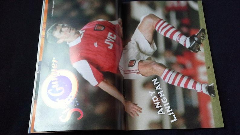 Arsenal v Ipswich Town Saturday April 15th 1995 football Programme