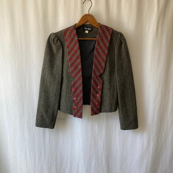 1980s boxy blazer by CHUEN SHYAN