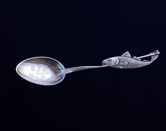 New Hampshire Sterling Demitasse Souvenir Spoon-Cascade-Towle