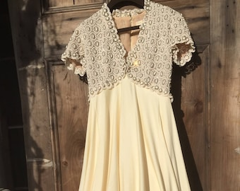 Vintage Victoria Royal Gown