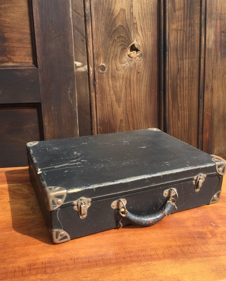Antique Salesman Suitcase