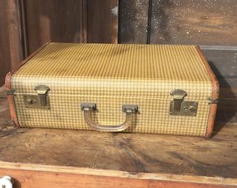Vintage Suitcase with Bakelite Handle