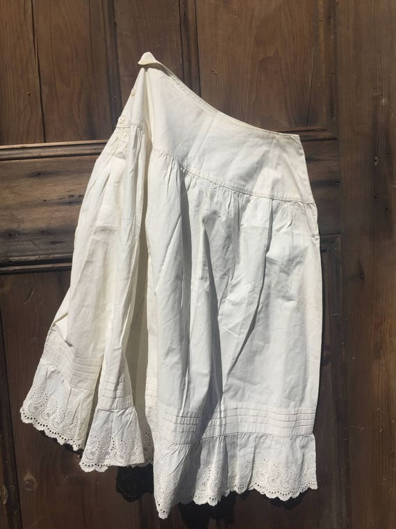 Vintage Cotton Petticoat
