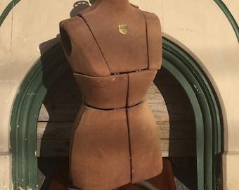 Antique Adjustable Dress Form