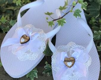 d9653703c12794 Wedding flip flops