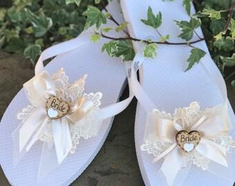 99803b7ab625f Wedding flip flop