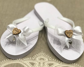 40198cae8 Wedding flip flops