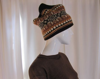 f743ba31e2041 1960 s Brown Icelandic Hat