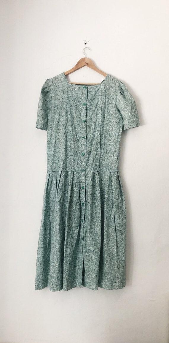 Laura Ashley Fine Floral Detail Dress