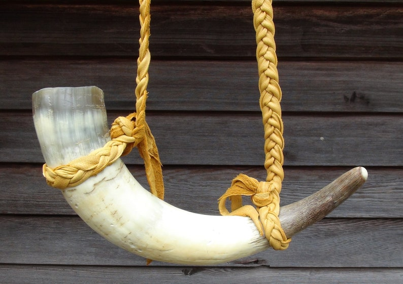 Drinking Horn Viking drinking horn Celtic drinking horn image 0