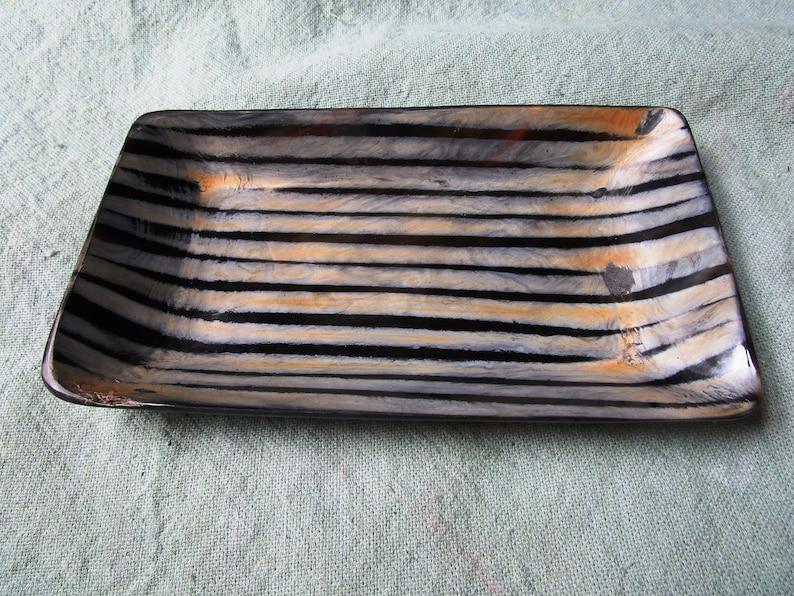 horn tray horn dish buffalo horn tray water buffalo tray image 0