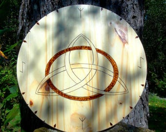 Viking shield, house shield, rune shields, Norse shields, Triquetra, talisman shields, Celtic shields, Viking symbols, Celtic symbols, Runes