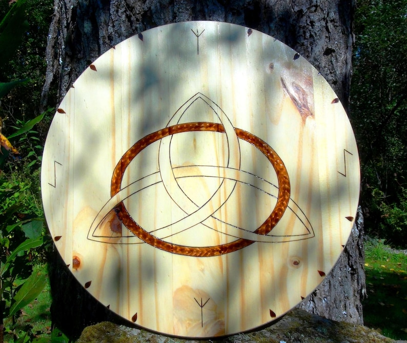 Viking shield house shield rune shields Norse shields image 0