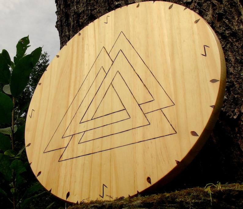 Viking shields house shields rune shields Norse shields image 0
