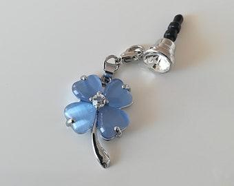 Beautiful flower Dust plug, 3,5 mm  dust plug, fashion mobile phone plug, universal earphone jack
