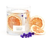 The Botanical Collection ~ Minabé Yuzu Citrus - Hand-Poured Scented Candle - Gift - Housewarming Gift