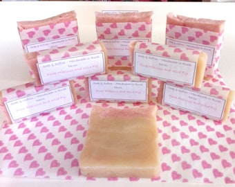 Luxurious Handmade Soap, coconut oil, sweet almond oil, sustainable palm oil, fragrance, essential oils, shea butter