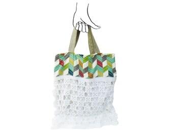 32d3eac691 Crochet slouchy bag