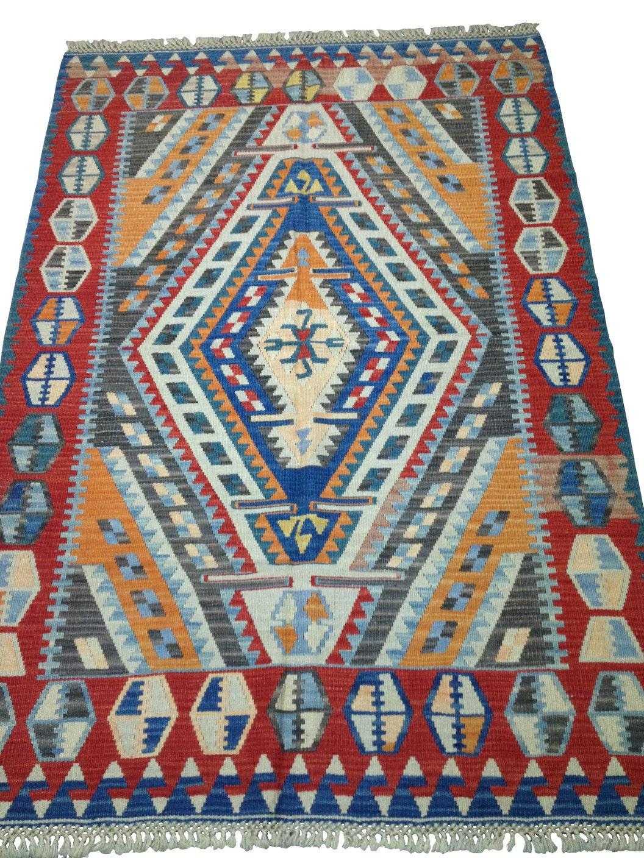 tapis oriental de salon kilim traditionnel de taille. Black Bedroom Furniture Sets. Home Design Ideas