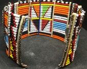 Traditional Maasai Cuff Bracelet
