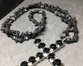 Black Onix Crystal Chip N...