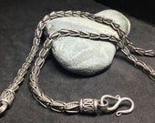 Chunky Chain Silver Man Necklace
