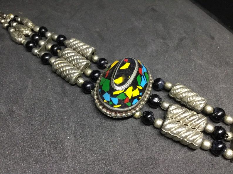 Vintage Unique Chocker Tribal Hippy Boho. image 0