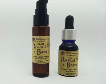 Organic Oil Shaving - Argan Beard, Cedar, Amirys