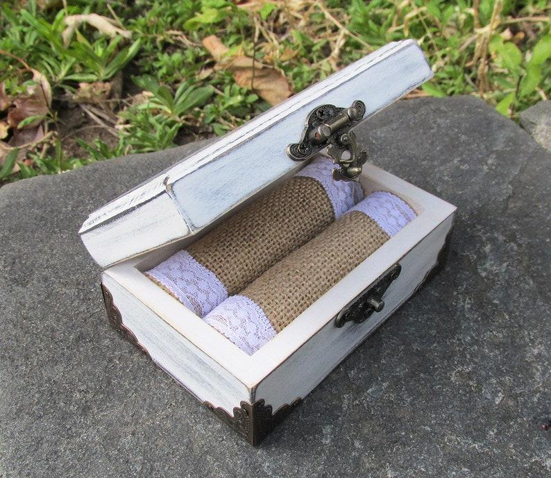 Wedding Gifts /& Mementos Wedding Ring Box For Ceremony Wedding Ring Holder Custom Wedding Ring Box Ring Bearer Box Wooden Ring Box