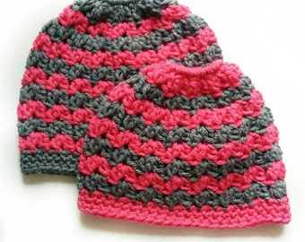 a447807833e Mommy and me Messy Bun Hats