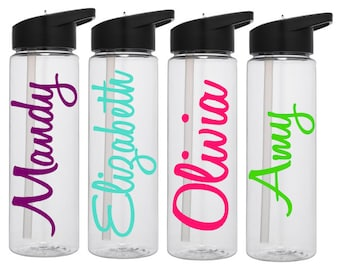 Personalized Water Bottle, Name Water Bottles, Name Waterbottle, Personalized Tumbler, Custom Water Bottle, Workout Water Bottle, Gym Bottle